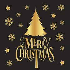 Yunyoud Weihnachten Weihnachtsmann Schneeflocke Muster