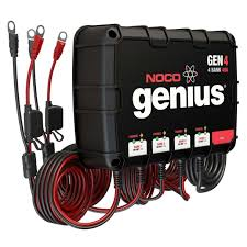 noco 4 bank 40a on board battery charger gen4 2 bank battery charger wiring diagram at 2 Bank Marine Battery Charger Diagram