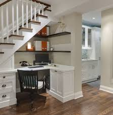 office under stairs. Wonderful Home Office Under Stairs Design Ideas Best About Desk On Pinterest Basements N
