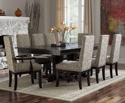 18 dining room set with leather chairs dining room white ceramic tile floor contemporary room furniture