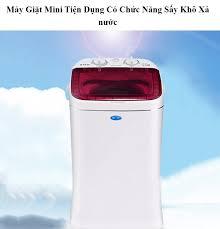 Máy Giặt Mini Tiện Dụng Có Chức Năng Sấy Khô Xả nước - Máy Giặt Mini ( Mẫu  Mới )