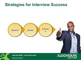 How To Be Successful In A Job Interview Tips For Successful Job Interviews Lunch And Learn 2014