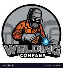 Welding Helmet Designs Welder Working With Weld Helmet In Badge Design