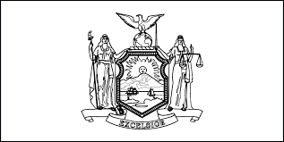 New York Flag Coloring Sheet - Coloring Pages Ideas