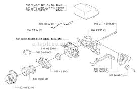 husqvarna 350 parts list and diagram 2005 05 click to close