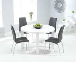 white round table and chairs elegant round white dining table white table chair sets