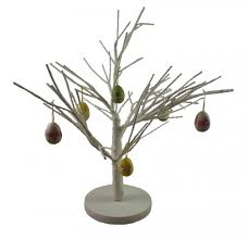 White Easter Twig Tree Table Decoration  GFHPDecorative Twig Tree