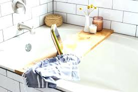 smart teak bathtub tray caddy wooden wood bath co residence in intended for ideas teak bathtub tray bath spa wood caddy ba