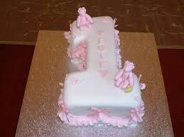 1st Birthday Cakes Girl Wedding Academy Creative Easy 1st