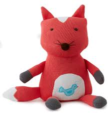 Fox Knit Tooth fairy Pillow