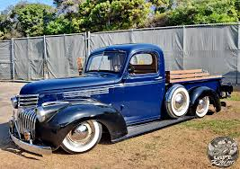Very nice 1941 Chevrolet pickup truck. The wood side-rail are a ...