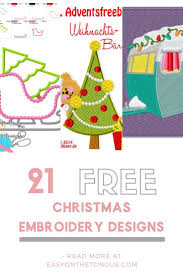 Embroidery Library Christmas Designs Too Good To Be True Free Christmas Embroidery Designs
