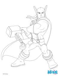 Small Picture Thor coloring pages Hellokidscom