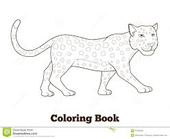 Small Picture Coloring Book For Children African Savannah Background Cartoon