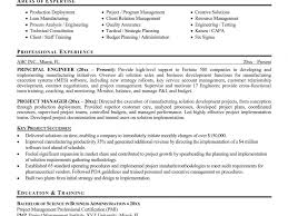 Sample Resume For Project Manager In Manufacturing Download Sample Resume Of A Project Manager DiplomaticRegatta 50