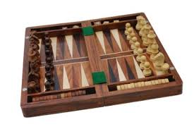 Wooden Game Pieces Bulk SouvNear Wood Backgammon and Chess Set Combo 100 Inch Travel Size 33