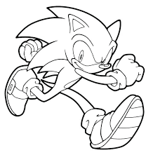 Mario And Sonic Coloring Pages Sportingchancefoundationorg