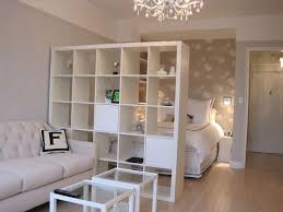 25 Creative Ideas for using Bookshelves as Room Dividers. Studio Apartment  ...