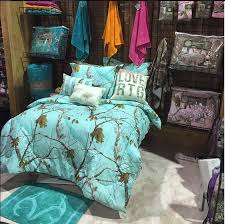 Blue Camouflage Bedroom Decor 1
