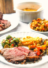 So don't hold back—pile 'em high with buttery mashed. Easy Low Carb Christmas Dinner With Rib Roast Sides My Life Cookbook