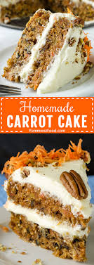 Homemade Carrot Cake Recipe From Yummiest Food Cookbook