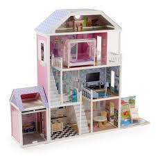 wooden barbie doll house furniture. MAMAKIDDIES 1.3 M Brighton Wooden Doll House With Furnitures: Amazon.co.uk: Toys \u0026 Games Barbie Furniture