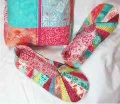 26 best quilting snappy slippers images on Pinterest | Slippers ... & Snappy Slippers pattern by Gerri Richards Adamdwight.com