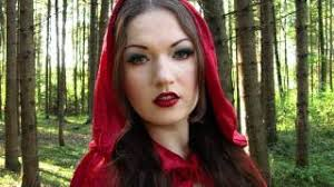 red riding hood costume makeup