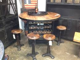 chic industrial furniture. wine tablejpg chic industrial furniture