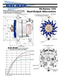 12 v alternator manual w 90series drawing 6 series alternator addendum b page 16 17