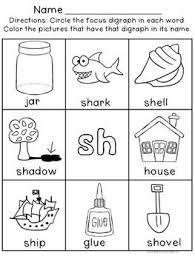 Once you find your worksheet, click on. Digraph Worksheets Sh Ch Th Wh Ph Ee Oo Digraphs Worksheets Kindergarten Reading Worksheets Phonics Kindergarten