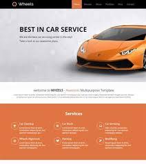 Car Template Latest Automobile Website Templates Free Download 2019 Webthemez