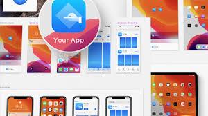 Ipad App Icon Design Ios 13 App Icon Template Icon Design For Sketch Freebiesui