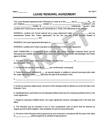 How Do You Make A Lease Agreement Interesting Create A Free Lease Renewal Download Print Legal Templates