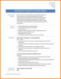 Maintenance Mechanic Resume Resume Ideas