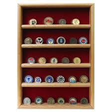 challenge coin case wall mount