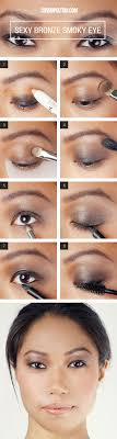 13 y eye makeup looks you can do in 5 minutes flat y bronze smoky eyes