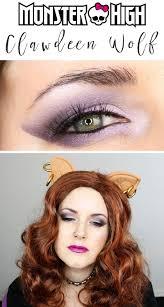 monster high clawdeen wolf makeup tutorial