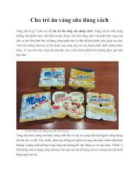 Cho trẻ ăn váng sữa đúng cách by Ebook 4u - issuu