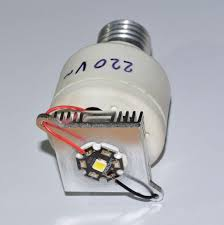 picture of how to make but very powerful led bulbs