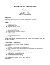 accountant resume resume template senior accountant resume sample senior accountant resume sample