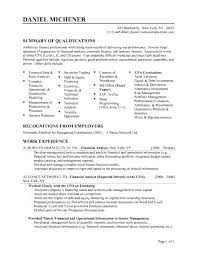 Examples Of Resume Title Profile Example Student Sample For