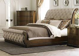 Tufted upholstered sleigh bed Faux Crystal Liberty Furniture Cotswold Tufted Linen Upholstered Sleigh Bed 545br Uxstudentclub Liberty Furniture Cotswold Tufted Linen Upholstered Sleigh Bed 545