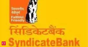 Syndicate Bank Syndicate Bank Expects Rs 4 000 Crore From Npa Recovery In