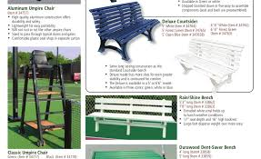 court benches chairs umpire chairs