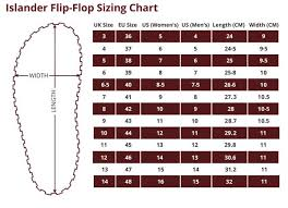 Womens Slipper Size Chart Sizing Chart Gumbies