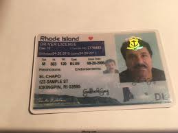 Island Fake Rhode Maker Id Card