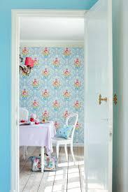 Pip Studio Shabby Chic Wallpaper Light Blue Pip Behang Shabby