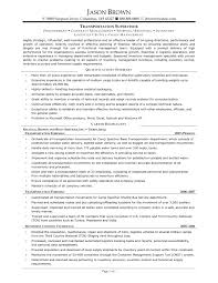Transportation Manager Resume Sample transportation supervisor resume samples Savebtsaco 1