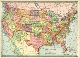 United States Map Of The World United States Map Vintage Map Download Antique Map History